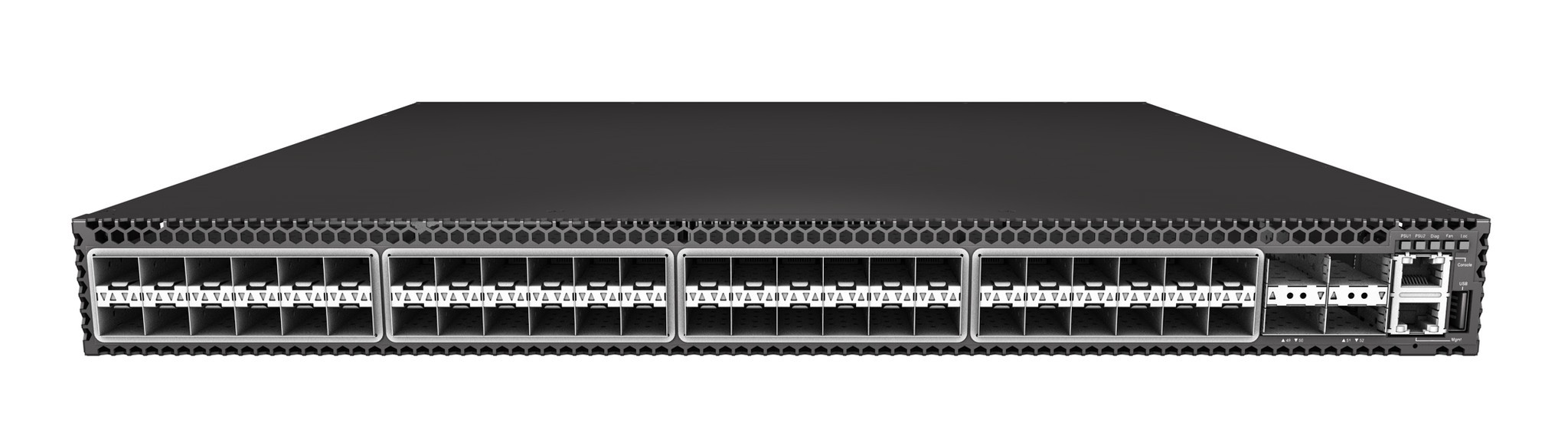 Edge-Core AS5610-52X 10/40G BM switch preloaded with ONIE front