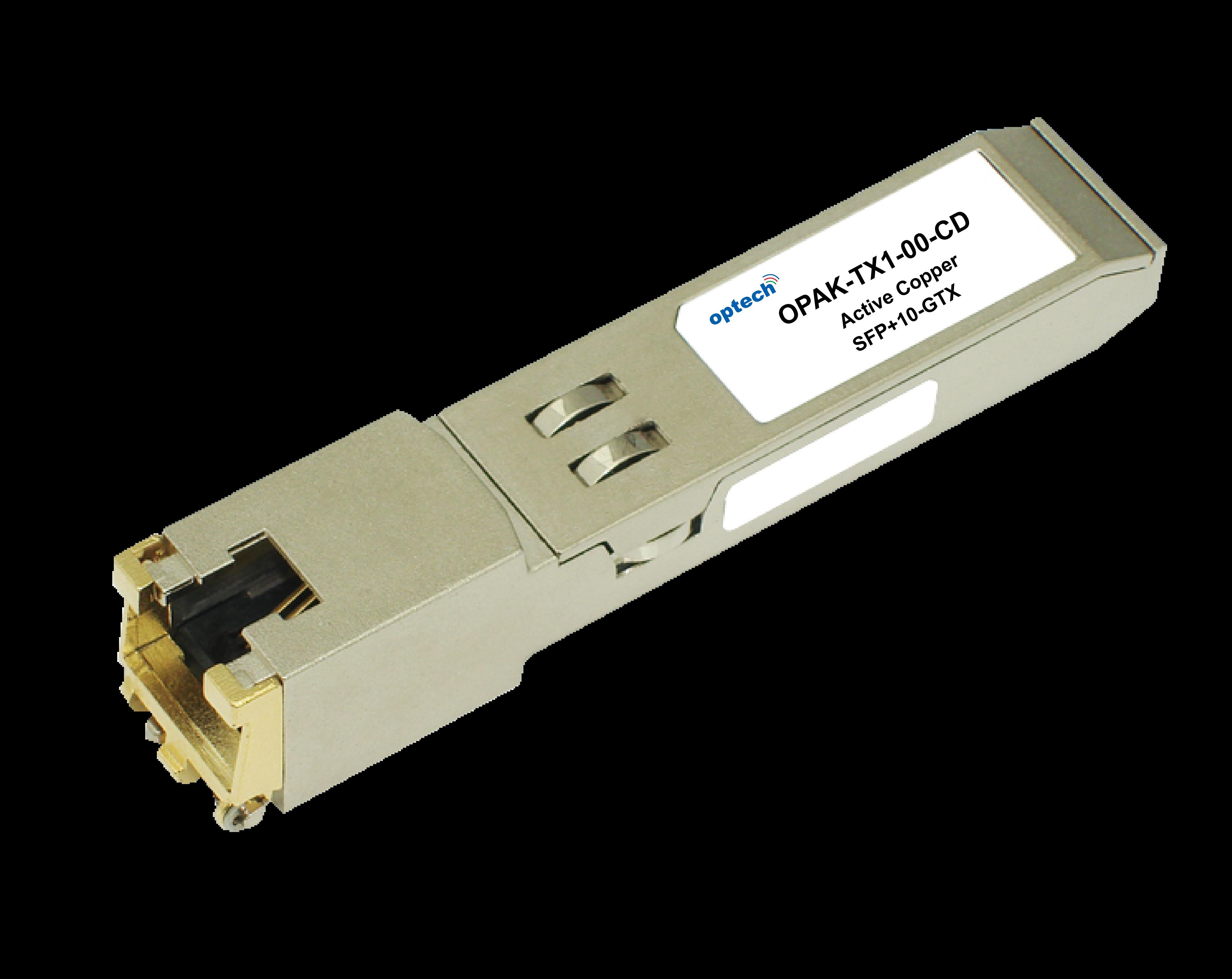 SFP+ 10GBASE TX COPPER RJ45 MODULE 30M OPTICAL TRANSCEIVER OPAK-TX1-00-CD