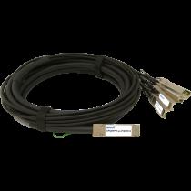 40G QSFP+ DAC fanout Passive, 1m (OPQSFP-T-01-P/SFPP/4)