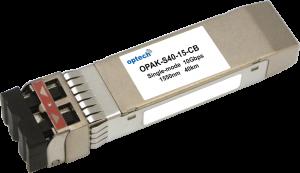 SFP+ 10G ER 40KM SMF OPTICAL TRANSCEIVER OPAK-S40-15-CB